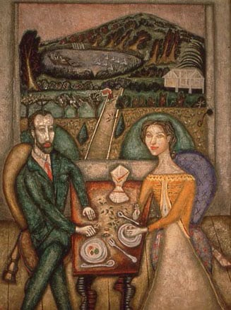 Artist and his Wife