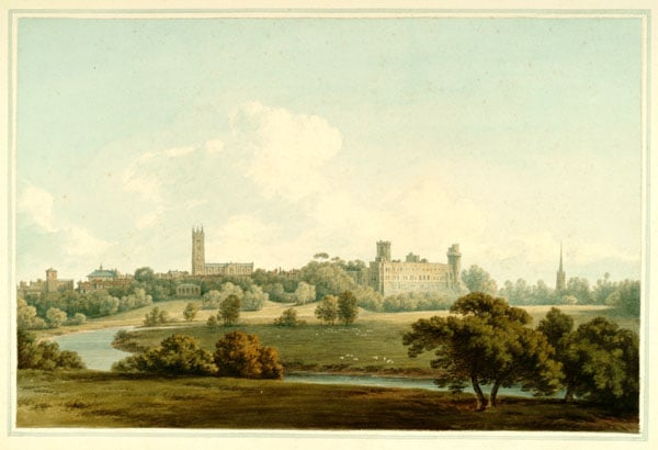 The Town and Castle of Warwick