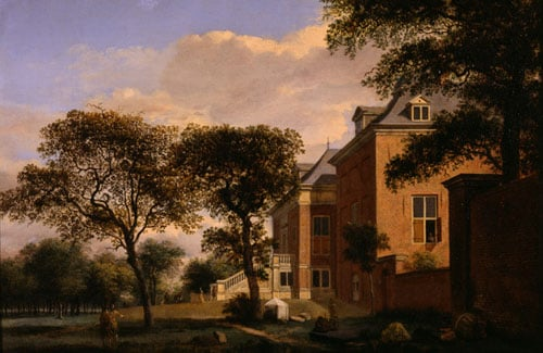 The House in the Wood & View in Amsterdam & Landscape - The House on the Hill