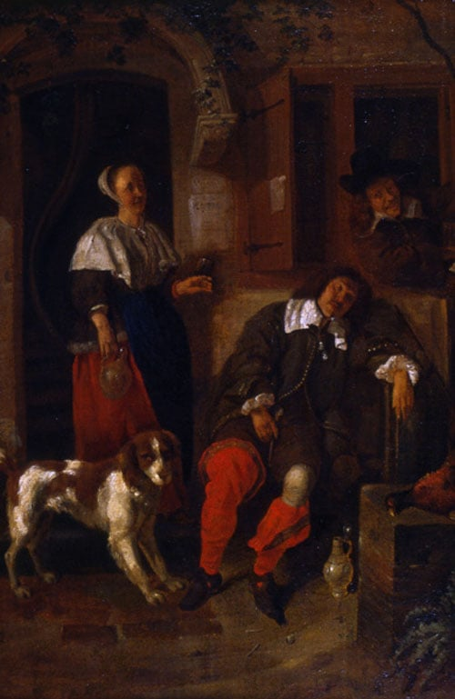 The Music Lesson & The Weary Sportsman by an Inn Door