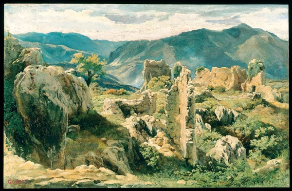 Ruins in the Alban Hills