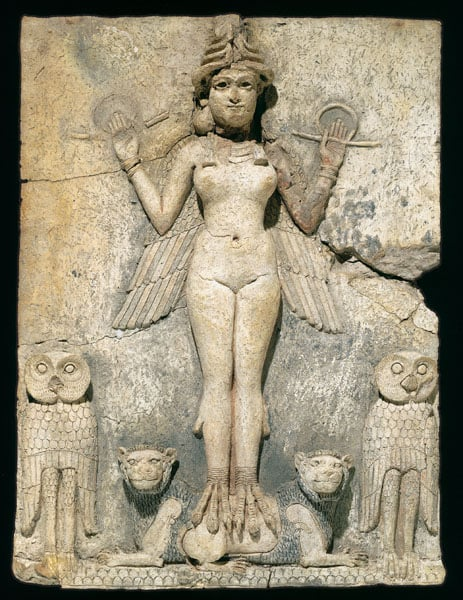 The Queen of the Night Relief (The Burney Relief)