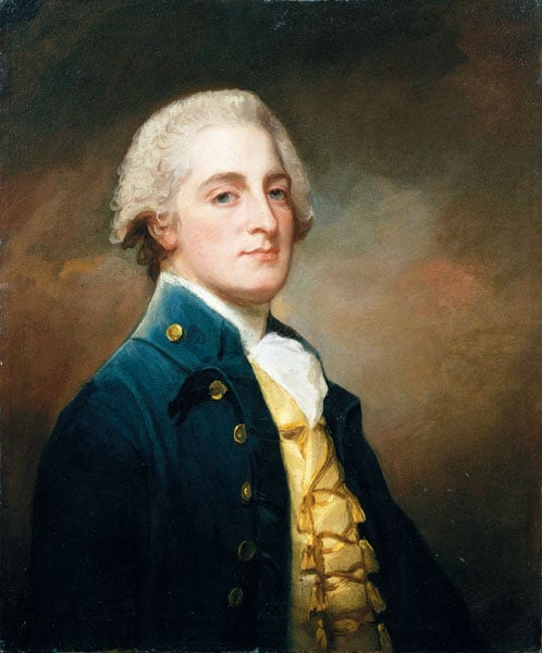 Portrait of George Boscawen, 3rd Viscount Falmouth