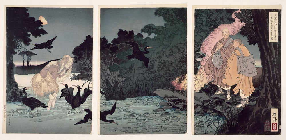 Collection of 24 woodcut prints