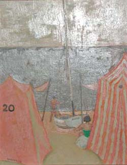 Bathing Tent and Boat