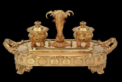 The Castlereagh Inkstand