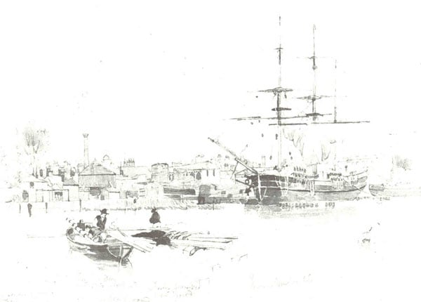 Harbour at Poole, Dorset; Lewin's Timber Yard