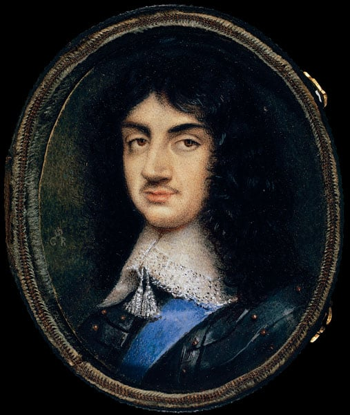 Portrait of Charles II as King of Scots