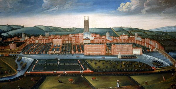 A Prospect of the City of Derby