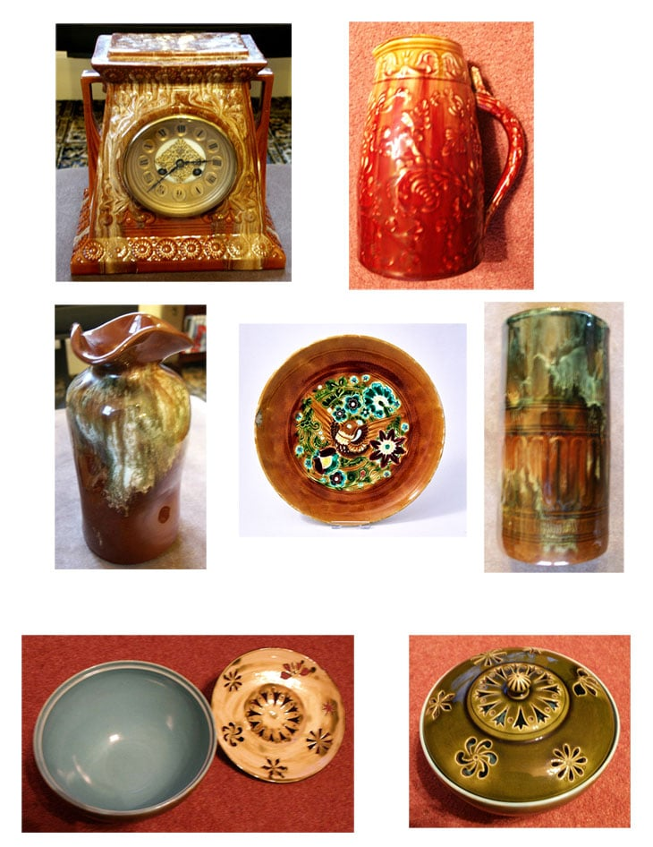 Collection of Linthorpe Art Pottery