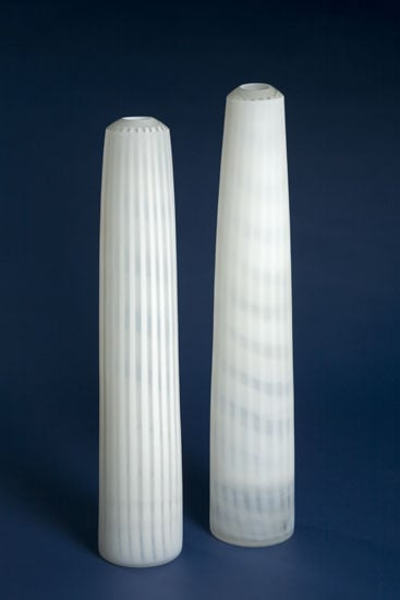 Two tall forms