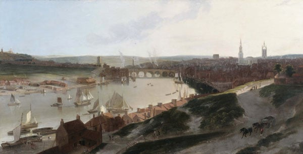 View of Newcastle upon Tyne taken from a windmill to the eastward of St Ann's