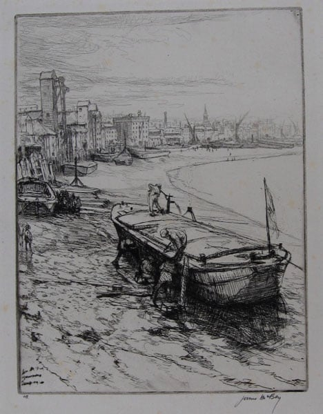 Collection of etchings and drypoints