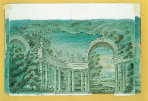 Oliver Messel collection of theatre designs