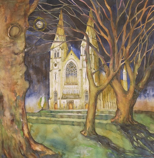 Five paintings of Armagh