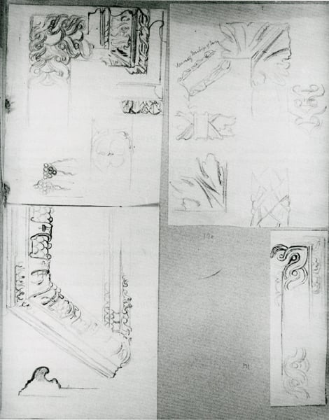 Four albums of drawings