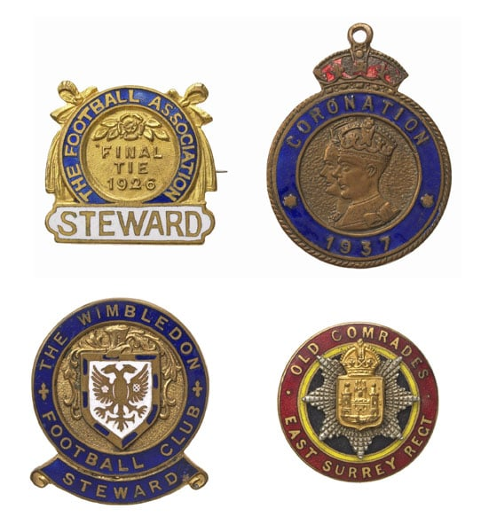 Collection of coins, medals, tokens & badges