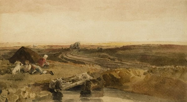 1) West Fen, Lincs; 2) Harvesting on Lincs Wolds; 3) Red Hill Quarry nr Goulceby, Lincs