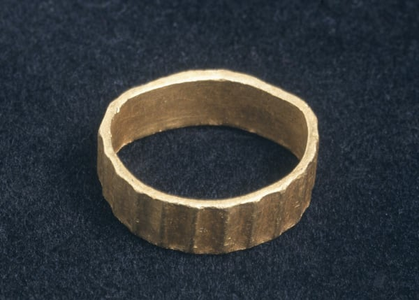 Finger ring from Nercwys
