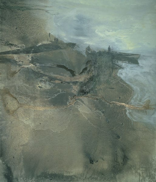 1) Colony Room I; 2) Study for 'The Colony Room'; 3) The Estuary, Thames Painting