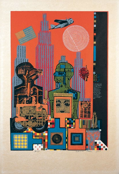 1) As is When; 2) Moonstrip Empire News; 3) Universal Electronic Vacuum; 4) Conditional Probability Machine; 5) The Sculptor's Studio