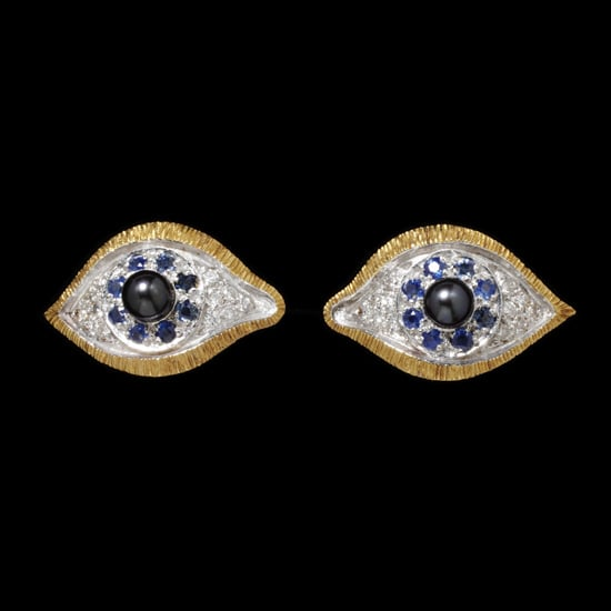 'Eyes' brooches