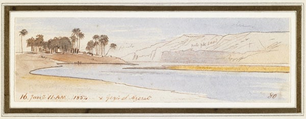 On the Nile and Gezier el Azerat