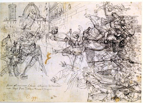 The Rise of the Florentines against the Duke of Athens, 1343