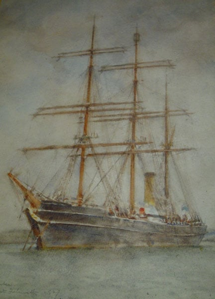 The Discovery at Falmouth 1927