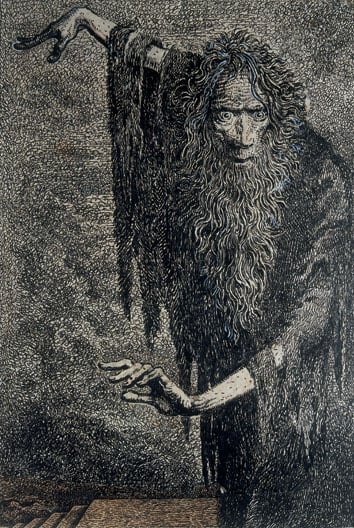 Illustrations from 'The Rime of the Ancient Mariner' by Samuel Taylor Coleridge