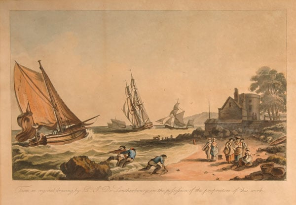Collection of prints and drawings of the Isle of Wight
