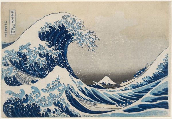 Under the Wave off Kanagawa (The Great Wave)