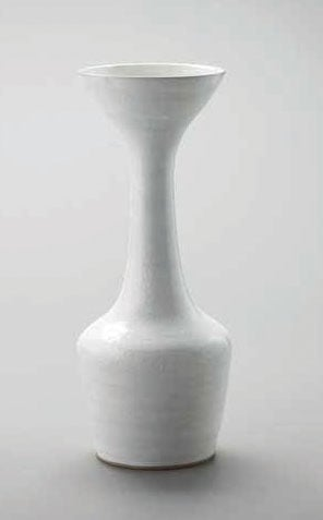 Large vase with conical flaring lip