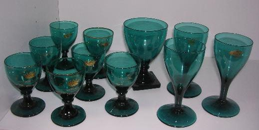Glasses decorated by William Absolon of Yarmouth