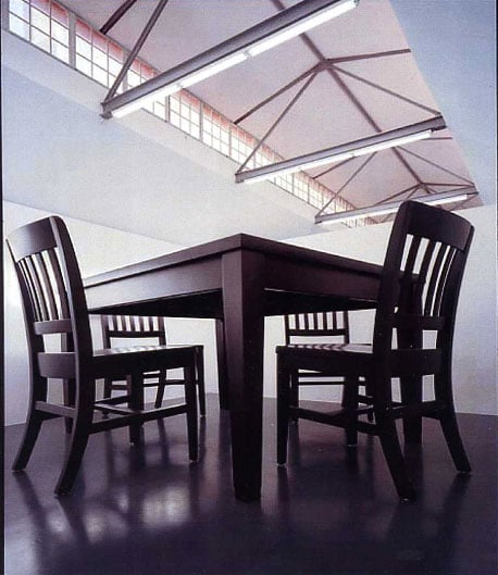 No Title (Table and Four Chairs)
