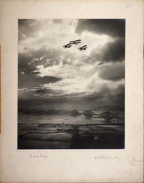 Group of aerial photographs