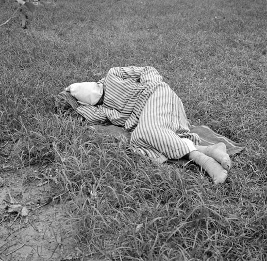 Photographs from the series 'Sleepers'