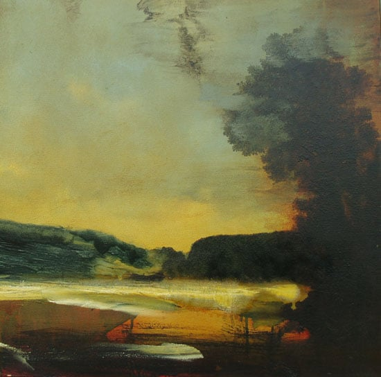 1) Fairlight from the Meadows; 2) Untitled (Romantic Landscape)