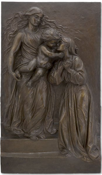 Heavenly Welcome: A Model for a Memorial to Mary Ellen Peel and her son Archibald