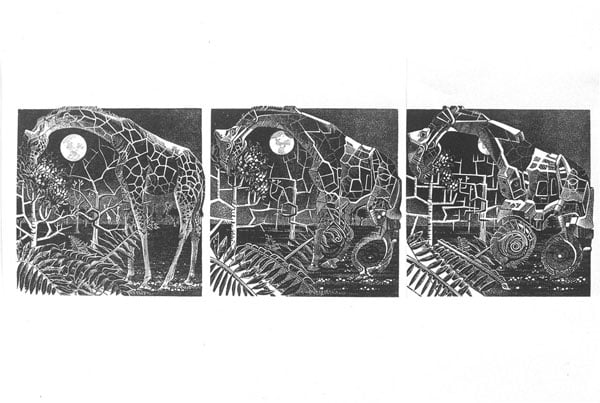 Collection of Relief Prints & Collages