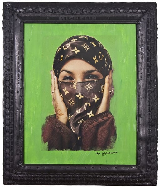 1) Saida in Green; 2) Jam Ena Angels (Art Fund Collection of Middle Eastern Photography)