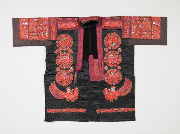 Collection of Miao textiles