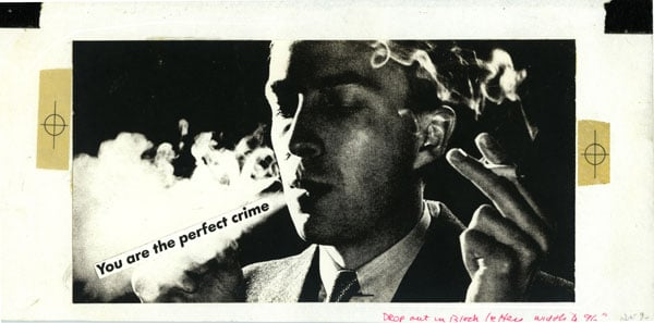 Untitled (You are the perfect crime)