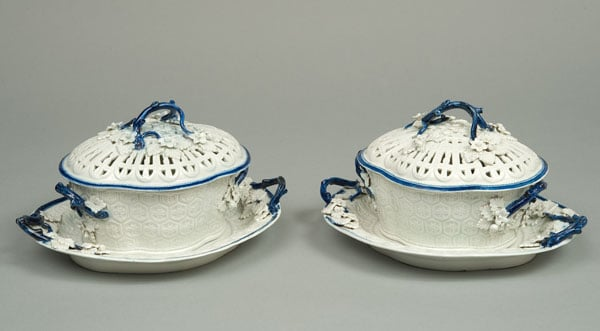 Collection of Caughley porcelain