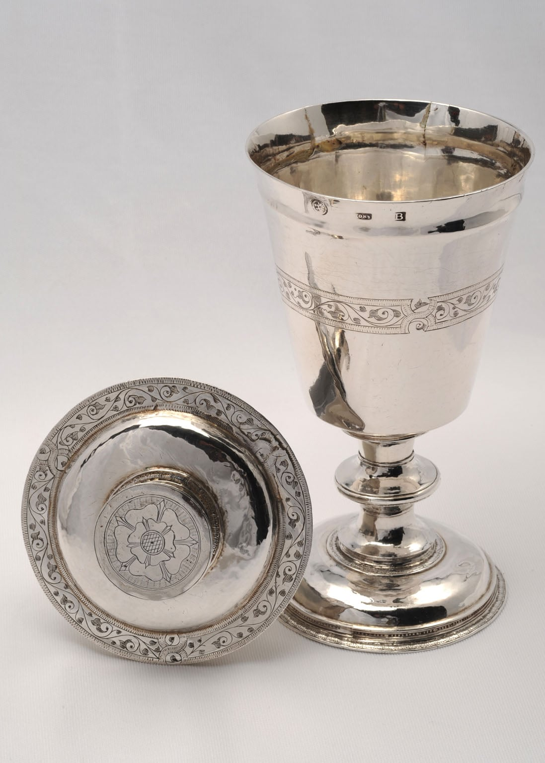 Communion cup and patten