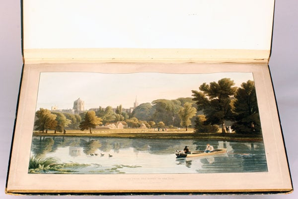 A Series of Picturesque Views of the River Thames