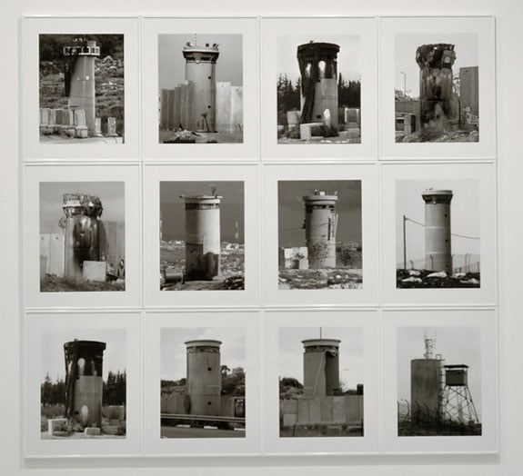 Watchtowers, West Bank (Art Fund Collection of Middle Eastern Photography)