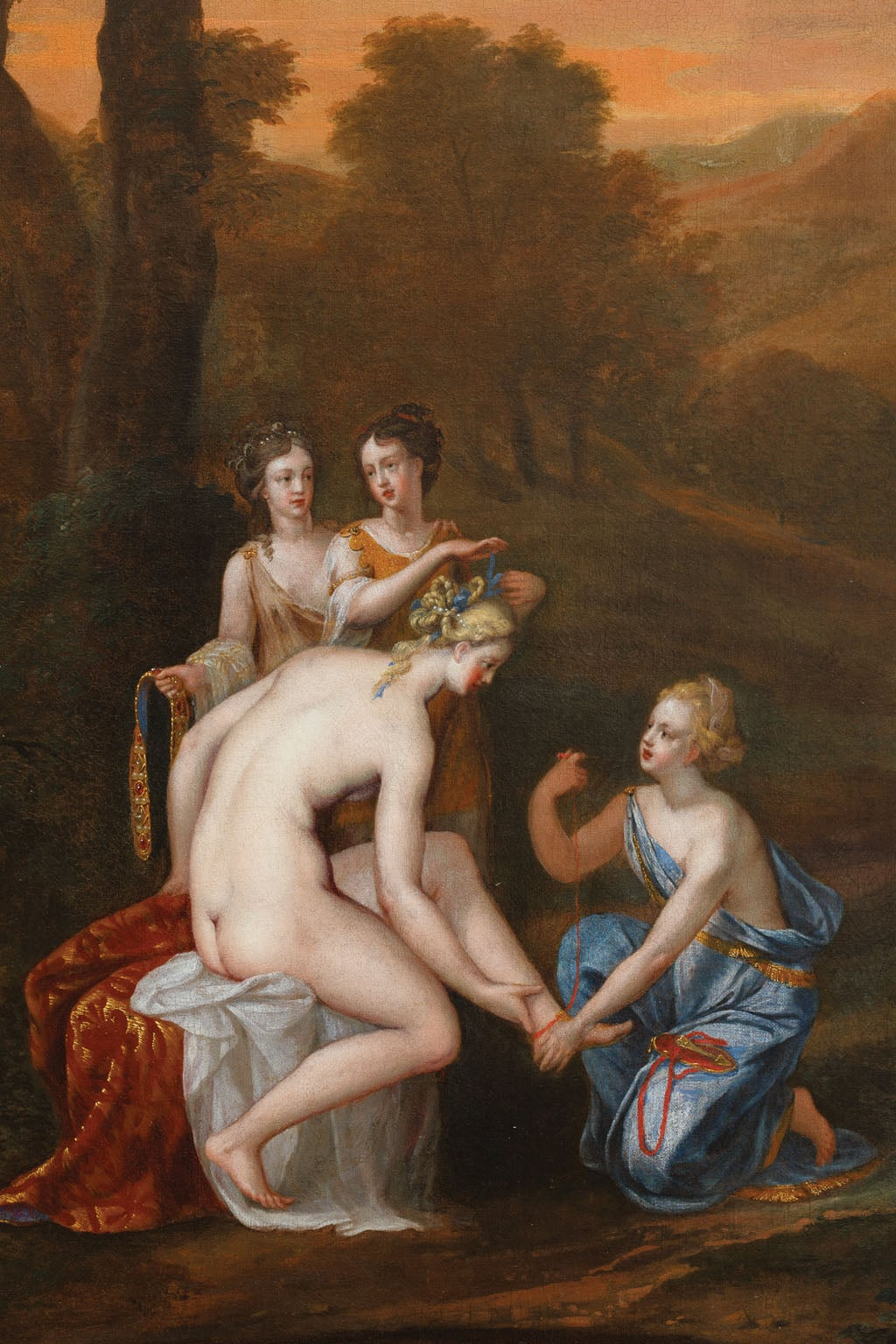 Venus Attired by the Graces