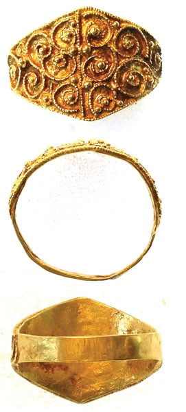 Anglo Saxon gold hoard