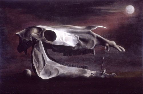 Horse's Skull, Sphere and Moon